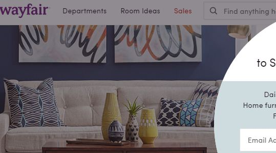 wayfair coupon code 20 off any order promo code nov. Black Bedroom Furniture Sets. Home Design Ideas